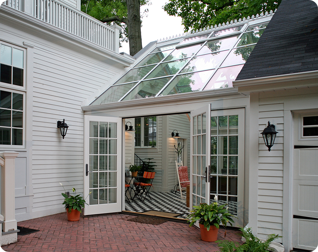 Screen Rooms Amp Sunrooms Carefree Exteriors Garage Door